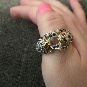 Other - New Real Custom 10K Solid Gold Jaguar Ring